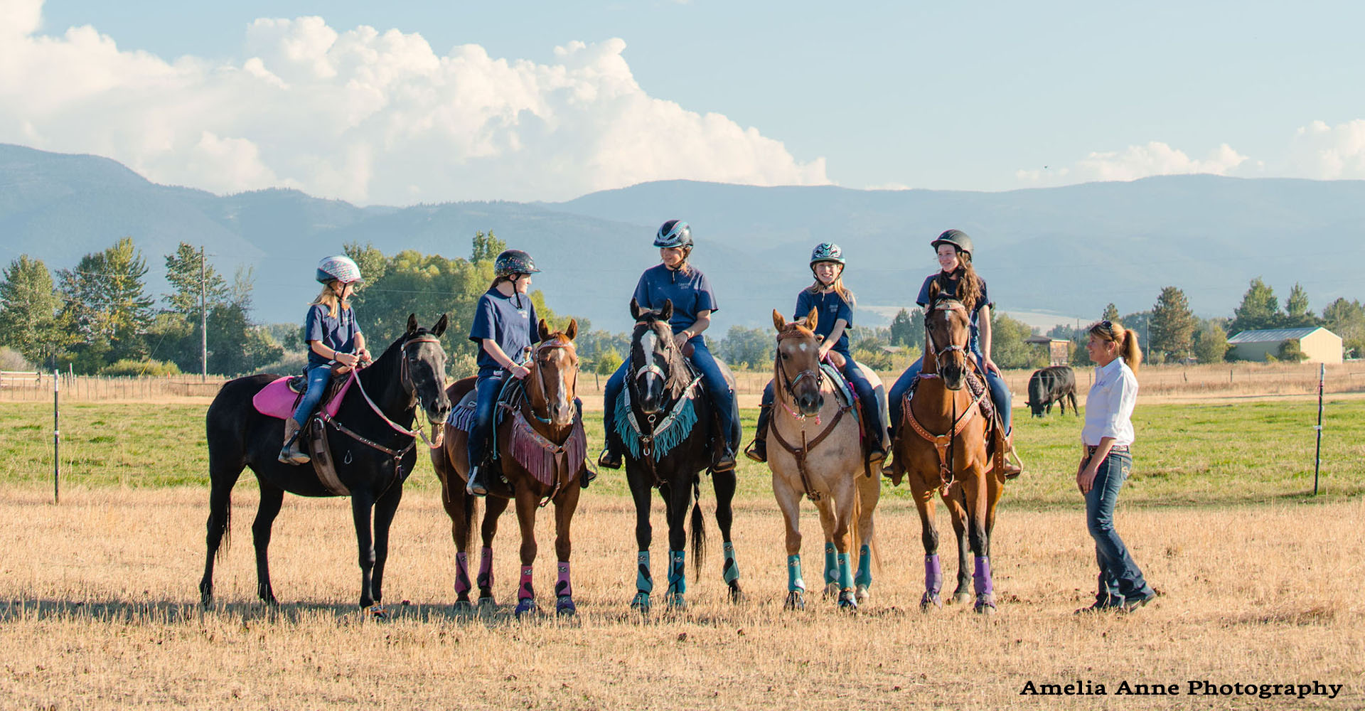 Bozeman Horse Riding Lessons Youth Camps Clinics