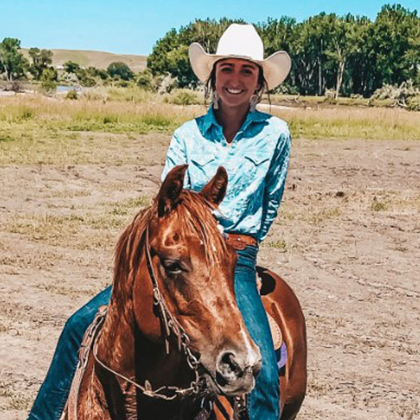 McKenna Anders Horse Instructor